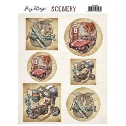 (CDS10025)Scenery - Amy Design - Transportation