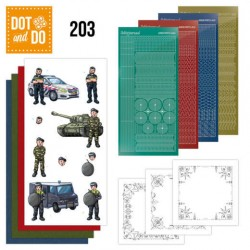 (DODO203)Dot and Do 203 - Yvonne Creations  - Big Guys - Professions