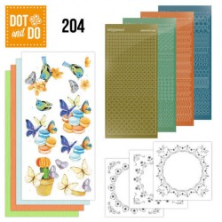(DODO204)Dot and Do 204 - Jeanine's Art - Butterfly Touch
