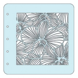 (COLST014)Nellies Choice Stencil Flower-3 - for MSTS001