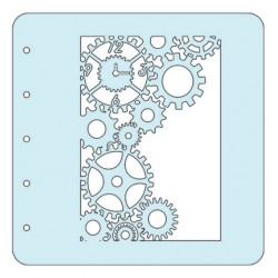 (COLST015)Nellies Choice Stencil Clock - for MSTS001