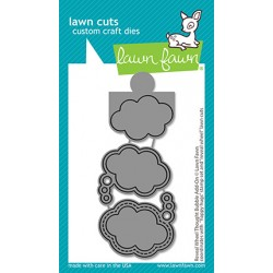 (LF2567)Lawn Fawn Reveal Wheel Thought Bubble Add-On Dies