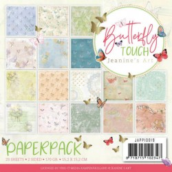 (JAPP10019)Paperpack - Jeanine's Art - Butterfly Touch