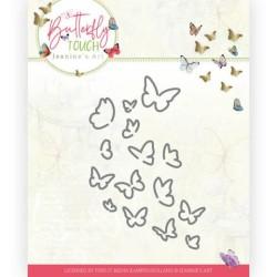 (JAD10120)Dies - Jeanine's Art - Butterfly Touch - Bunch of Butterflies