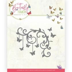 (JAD10125)Dies - Jeanine's Art - Butterfly Touch - Butterfly Corner