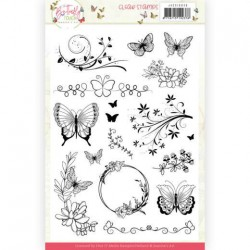 (JACS10036)Clear Stamps - Jeanine's Art - Butterfly Touch