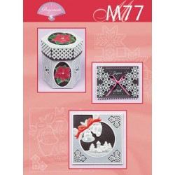 Pergamano M77 Traditional Christmas with vellum black