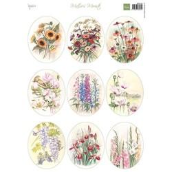 (MB0194)Mattie's Mooiste - Field bouquets Ovals