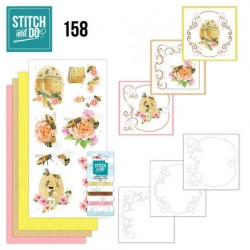 (STDO158)Stitch and Do 158 - Jeanine's Art - Humming Bees