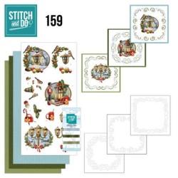 (STDO159)Stitch and Do 159 - Amy Design - History of Christmas