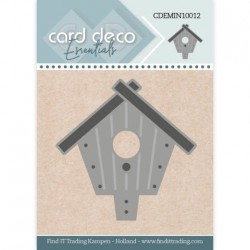 (CDEMIN10012)Card Deco Essentials - Mini Dies - Birdhouse