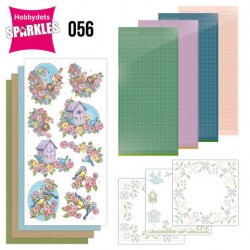 (SPDO056)Sparkles Set 56 - Yvonne Creations - Flowers and Birds
