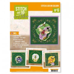(STDOOC10006)Stitch and Do on Colour 006 - Jeanine's Art - Humming Bees