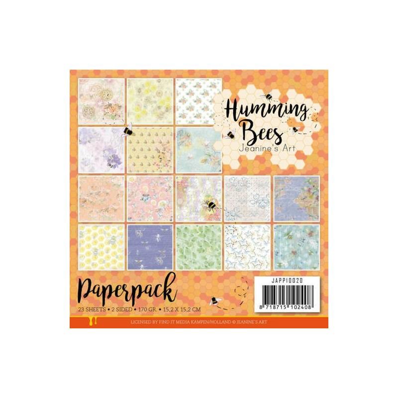 (JAPP10020)Paperpack - Jeanine's Art - Humming Bees