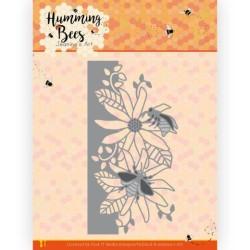 (JAD10126)Dies - Jeanine's Art - Humming Bees - Flower Border