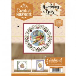 (CH10015)Creative Hobbydots 15 Jeanine's Art - Humming Bees