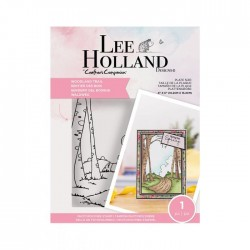 (LH-STP-WOODT)Crafter's Companion Lee Holland Clear Stamps Woodland Trail