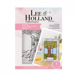 (LH-STP-TREEH)Crafter's Companion Lee Holland Clear Stamps Treehouse