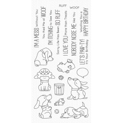 (BB-105)My Favorite Things Woof Pack Clear Stamps