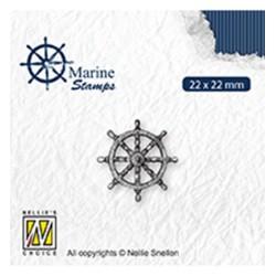 (VCS002)Nellie`s Choice Clearstamp - Maritime Rudder