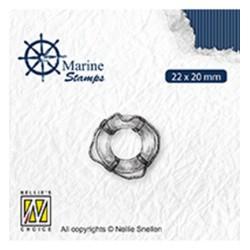 (VCS003)Nellie`s Choice Clearstamp - Maritime Lifebuoy
