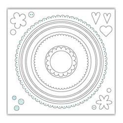 (JHD-CUT-1006)Julie Hickey Die - Circles
