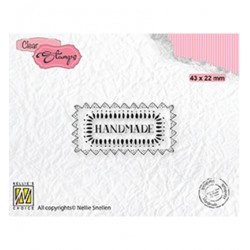 (DTCS030)Nellie's Choice Clear stamps Texts Handmade
