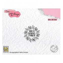 (DTCS032)Nellie's Choice Clear stamps Text 100% Handmade