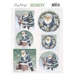(CDS10030)Scenery - Amy Design - Santa Claus