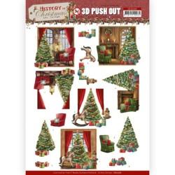 (SB10566)3D Push Out - Amy Design - History of Christmas - Christmas Home