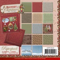 (ADPP10040)Paperpack - Amy Design - History of Christmas