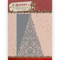 (ADD10246)Dies - Amy Design - History of Christmas - Lacy Christmas Tree