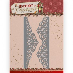 (ADD10247)Dies - Amy Design - History of Christmas - Lacy Christmas Borders