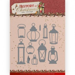 (ADD10248)Dies - Amy Design - History of Christmas - All Kinds of Lanterns