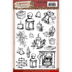 (ADCS10075)Clear Stamps - Amy Design - History of Christmas
