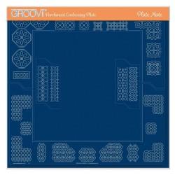 (GRO-MA-41768-21)Groovi PLATE MATE SQUARE GRIDS