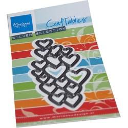 (CR1555)Craftables Art texture - Hearts