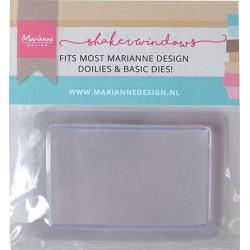 (LR0039)Marianne Design Shaker Windows - Rectangle