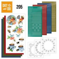 (DODO205)Dot and Do 205 -  Jeanine's Art - Buzzing Bees
