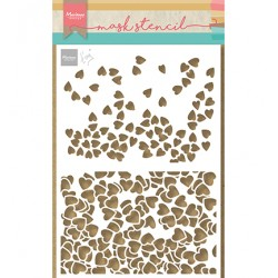 (PS8096)Marianne Design Craft stencil: Tiny's Hearts