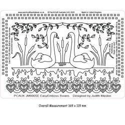 (JM9005E)PCA-UK® - EasyEmboss Swans