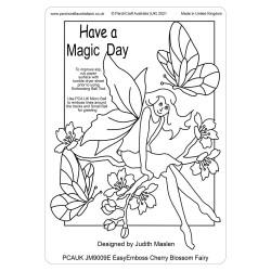 (JM9009E)PCA-UK® - EasyEmboss Cherry Blossom Fairy
