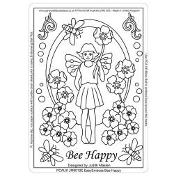 (JM9010E)PCA-UK® - EasyEmboss Bee Happy
