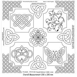 (TP3712E)PCA-UK® - EasyEmboss Oversized Celtic Love