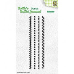 (NBJCS001)Nellie`s Choice Clearstamp - Set of borders-1