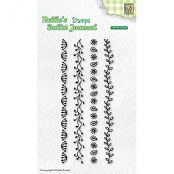 (NBJCS002)Nellie`s Choice Clearstamp - Set of borders-2