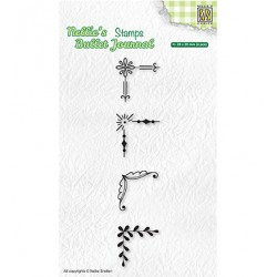 (NBJCS005)Nellie`s Choice Clearstamp - Set of corners-2