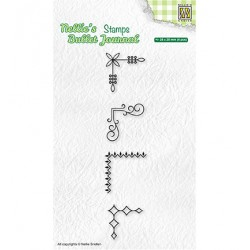 (NBJCS006)Nellie`s Choice Clearstamp - Set of corners-3
