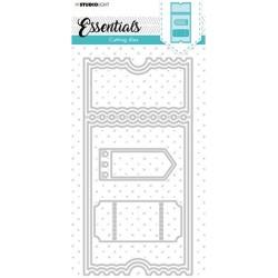 (SL-ES-CD35)Studio Light SL Cutting Die Slimline Essentials nr.35