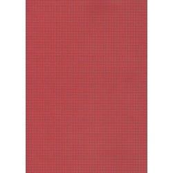 Carton perforé 24 * 35 cm rouge